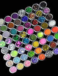 72 Manucure Dé oration strass Perles Maquillage cosmétique Nail Art Design