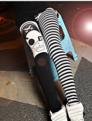 Women's The Pirate Captain Pattern Tights Pants Leggings