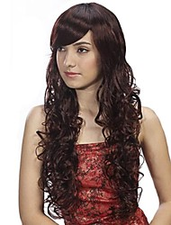 Capless Long High Quality Synthetic Curly Hair Wig 3 Colors Available