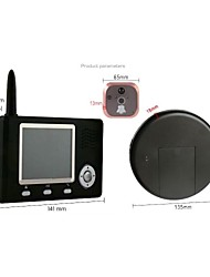 "Wireless Peephole Viewer con 3.5 ""TFT a colori (1camera 1 monitor)"