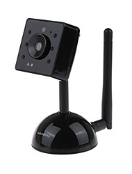 "DZY C003 2.4G 0.3 MP 1/1.6 ""CMOS caméra sans fil moniteur, Plug and Play - Noir"