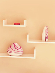 Postmodern Minimalism Solid Color V-Shaped Wall-Mounted Storage Shelf