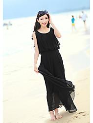 Women's Dresses , Chiffon Beach/Casual/Work Kingmany
