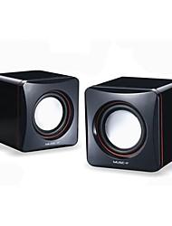 Music-M-01A  High Quality Stereo USB 2.0Multimedia Speaker  (Black)