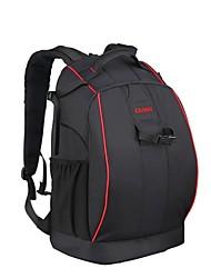 CADEN Anti-theft Waterproof Nylon Backpack Traveling Bag for Canon Nikon Sony DSLR Camera - Black