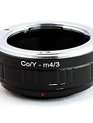 CONTAX CY Lens Panasonic OLYMPUS M4 / 3 Mount Adapter