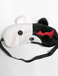 Mask Inspired by Dangan Ronpa Monokuma Anime/ Video Games Cosplay Accessories Mask Black Velvet Male / Female