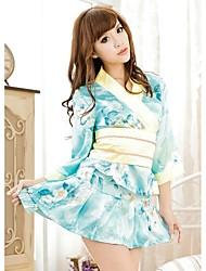 Belle Ultra sexy mignon cerise Imprimé kimono de femme