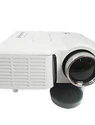 Mini LED Projector 400Lumens 320x240 with VGA USB SD HDMI
