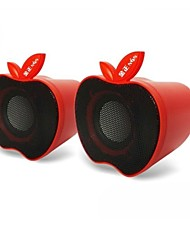 Musik-M-12 High Quality Stereo-USB-Lautsprecher 2.0Multimedia (Red)