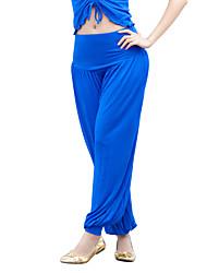 Women's Comfortable Mercerized Cotton Stretch Harem Pants More Colors