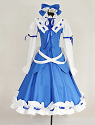 Inspired by TouHou Project Star Sapphire Cosplay Costumes