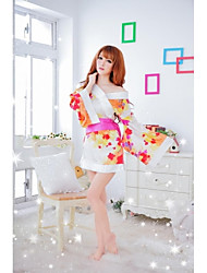 Precioso Ultra atractivo lindo japonés del kimono de la lencería sexy de la mujer