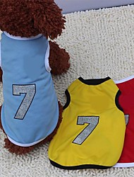 New Jersey No.7 Mesh Vest  for Pet Dogs(Assorted Size,Assorted Color)