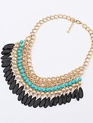 Shadela Bohème Cyan collier de mode CX088-3
