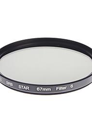 ZOMEI Camera ottici professionali cornice stelle 6 Filter (67 millimetri)