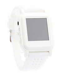 Fashion Comfortabele Handig MP4 Smart horloge Player (White)