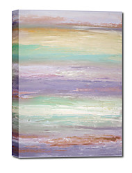 Hand Painted Oil Painting Abstract Sea Painting For Living Room with Stretched Frame