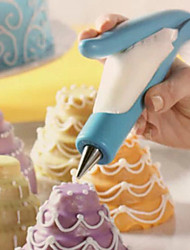 Cake Nozzle Fondant Dessert Decorating Pen Icing Piping Cream Syringe Tips