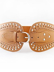 Women Wide Belt , Vintage/Cute/Party/Work/Casual Leather