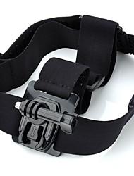 TOZ TZ-GP104 QT04 + K3 Nylon + Plastic Aço Inoxidável + Headband w / Adapter Set para GoPro Hero 2/3