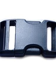 Deposito clip da cintura rilascio laterale di plastica inarca 38 millimetri - Nero