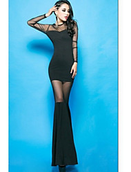 Women's Ultra Sexy Mesh See Through Fishtail Derss (Random Dress)