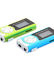 TF Card Reader Digital Mp3 Player con la torcia elettrica Funzione e clip