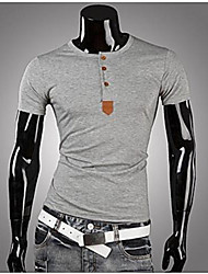 Men's Casual Sleeve T-shirt Fashion Short