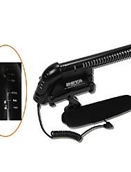 BY-VM200P microfono 3.5mm Videocamera digitale SLR Fotocamera e Portable Audio Registrazione