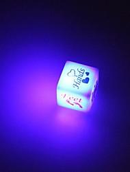 Flash LED de jeu de dés amant jouet (2 PCS)