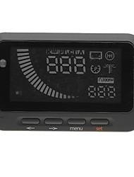 F-01 Automobile HUD Head Up Display System - Black