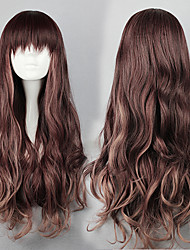 Harajuku  Style Daily Synthetic Wig  Lolita Long wavy Wig