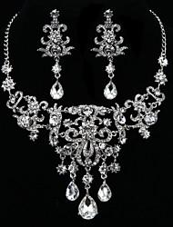 Women's Silver Jewelry Set Cubic Zirconia