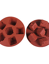Small House Shaped Silicone Ice Mold