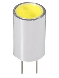 1.5W G4 LED à Double Broches 1 COB 110-120LM lm Blanc Chaud DC 12 V