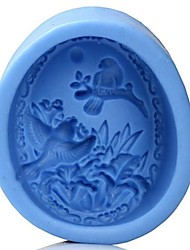 Bird  Shaped Bake Mold, W8.3cm x L6.5cm x H3.2cm