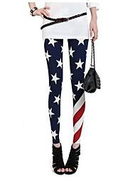 Women's Pants , Cotton/Nylon/Polyester/Spandex Dilamen