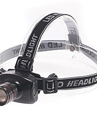 Iluminação Lanternas de Cabeça LED 180 Lumens 3 Modo - AAA Foco Ajustável Multifunções Plástico