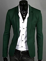 Collar Profissão Peridot Alfaiate do U2M2 Men One Coat Buckle