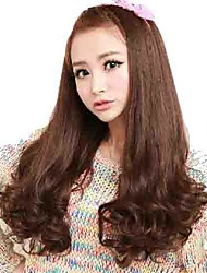 Capless Long Wavy Synthetic Average Stylish Wigs 3 Colors Available