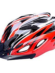 FJQXZ EPS + PC Красное и черное интегрального под давлением Велоспорт Шлем (18 Вентс)