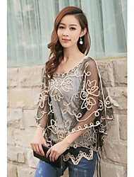 Women's Fashion Loose Bat  Sleeves Top