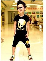 Junge Mode-T-Shirts + Shorts Sets Schöne Sommer Zwei Stücke Sport Sets Bekleidung Set