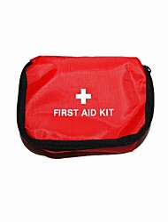 First Aid Kit Emergency / First Aid Hiking Red
