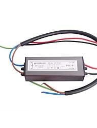 Driver de LED de 20W Waterproof IP66 10 Série 2 Paralela Fonte Converter (20-38V, 600mAh)