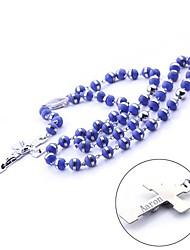 Presente personalizado de aço inoxidável e silicone camisola cadeia colar Cadeia