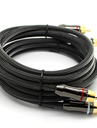 C-Cable 2 RCA macho a macho Cable de audio (3M)