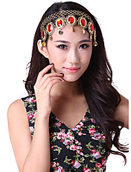 Belly Dance Accessories Colorful Stone Headpiece For Women
