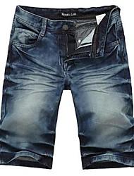 Männer Casual Denim Shorts